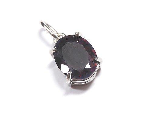 【動画】【1点もの】宝石質ブラックオパールAAA ファセットカットペンダントトップ SILVER925製 NO.107