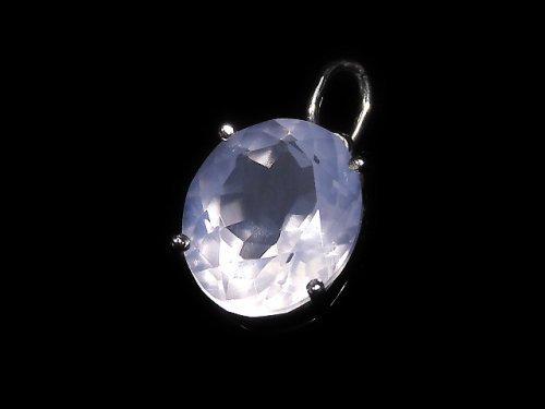 【動画】【1点もの】宝石質スコロライトAAA ファセットカットペンダントトップ SILVER925製 NO.302