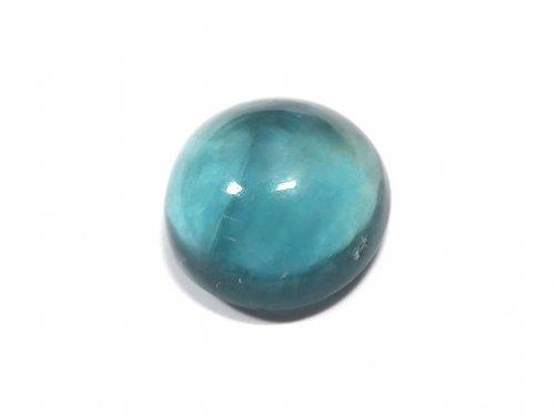【動画】【1点もの】宝石質ブルーグリーンフローライトAAA カボション 1粒 NO.184