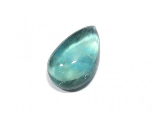 【動画】【1点もの】宝石質ブルーグリーンフローライトAAA カボション 1粒 NO.188