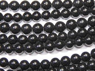 天然石卸 ◆SALE◆1連380円!オニキス ラウンド3mm 1連(約38cm)