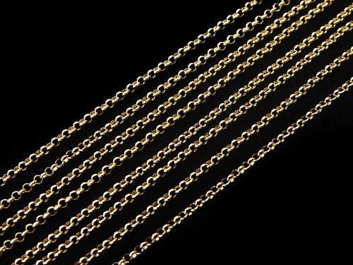 【K18 Yellow Gold】 ネックレス ロロチェーン 1本(約40cm)