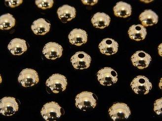 天然石卸 K14YG ラウンドビーズ【4mm】【5mm】【6mm】 1粒220円〜!