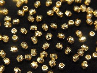 天然石卸 Silver925 ラウンドカット2.5mm 18KGP 20粒320円〜!