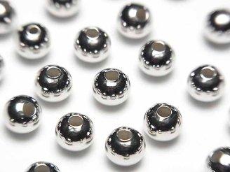 天然石卸 Silver925 ラウンド2mm・2.5mm・3mm・4mm・6mm ロジウム 25粒240円〜!