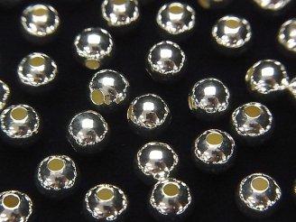 天然石卸 Silver925 ラウンド2mm・2.5mm・3mm・4mm・6mm 生地 10粒220円〜!