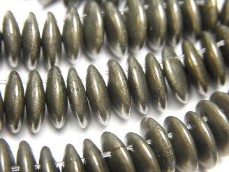 天然石卸 1連1,380円!ゴールデンパイライトAAA コイン 【10mm】【15mm】 1連(約6cm)