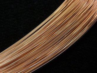 天然石卸 K18PG ワイヤー 線径0.38mm 50センチ4,980円〜!