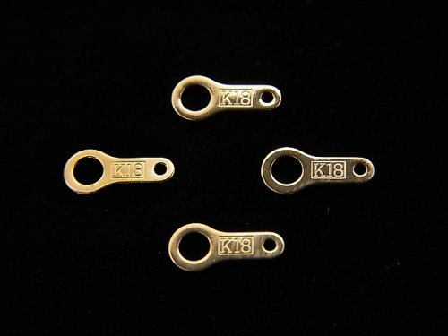 【K18 Pink Gold】 プレート 1個