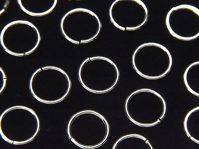 Silver925 丸カン 【3mm】【4mm】【5mm】【6mm】 生地 20個〜!