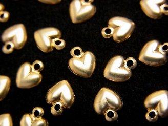 【K14 Yellow Gold】 チャーム 6×5mm ハート 1個480円!
