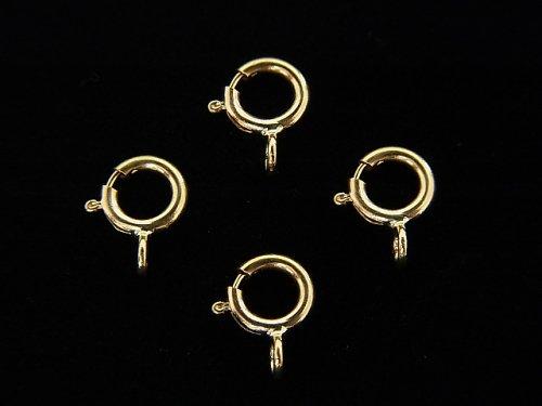 【K14 Yellow Gold】 ヒキワ【4.5mm】【5mm】 1個