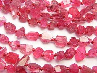 天然石卸 素晴らしい輝き!宝石質レッドスピネルAAA タンブルカット 1/4〜1連(約38cm)