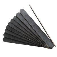 【new】エメリーボード ブラック 180G/220G  ウッドボード  ネイル