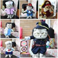 【コスプレ】猫 コスチューム【猫服 スーツ服 衣装 ペット】