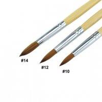 【スカルプブラシ】10号 高品質コリンスキー  検定・フレンチ・ネイリスト必須!