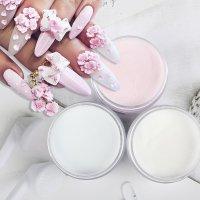 アクリルパウダー 20g【スカルプ チュア 3D アート】ネイル用