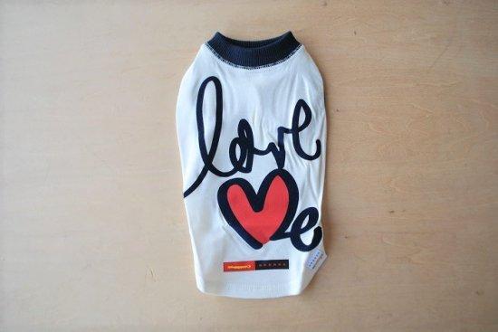 アウトラスト love me Tシャツ ホワイト