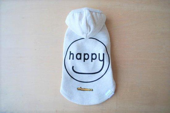 HAPPY HOODIE ホワイト