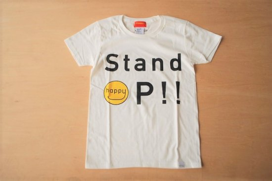 stand up Tシャツ ホワイト