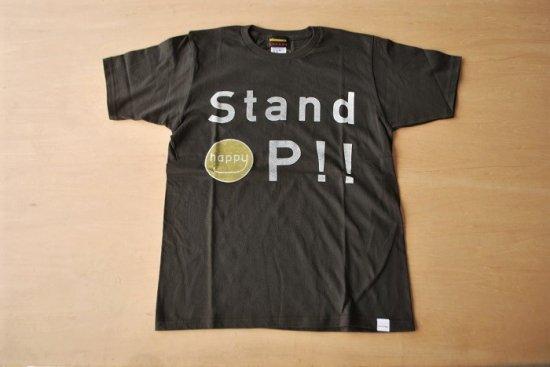 stand up Tシャツ ブラック