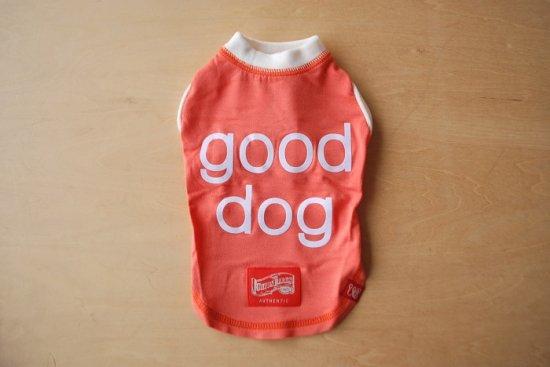 アウトラスト good dog Tシャツ サーモンピンク