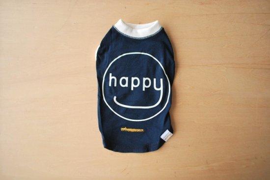 アウトラスト happy Tシャツ ネイビー