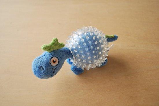 スクイーカートーイ  DINO/BLUE