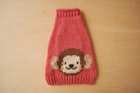 MONKEY ドッグセーター ピンク