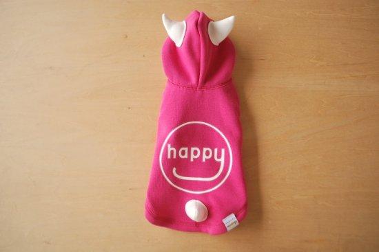 HAPPY DEVIL HOODIE ピンク