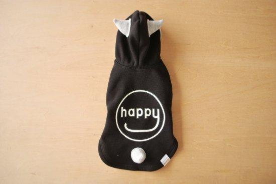 HAPPY DEVIL HOODIE ブラック