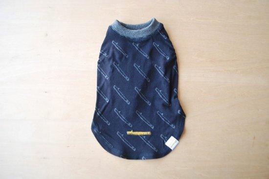 STICK WAVE Tシャツ ネイビー / アウトラスト