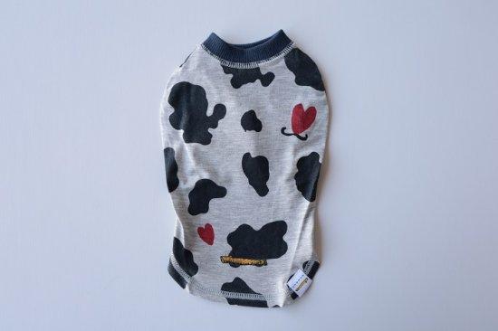 Love cow cow Tシャツ/アウトラスト ネイビー