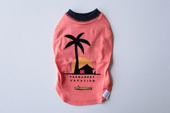 Permanent Vacation Tシャツ/アウトラスト オレンジピンク
