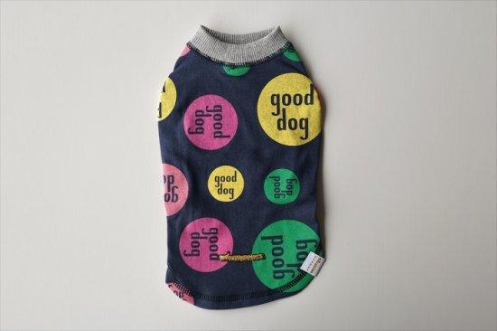 CLEANSE good dog Tシャツ ネイビー