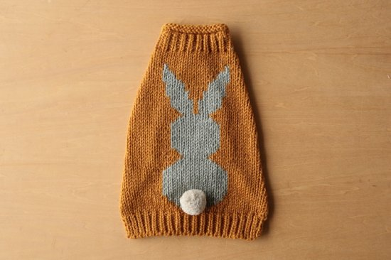 YELLOW RABBIT ドッグセーター