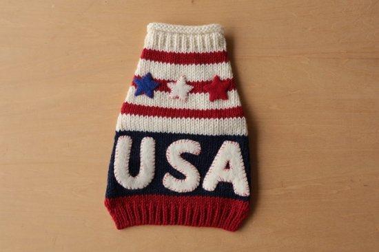 U.S.A. ドッグセーター ホワイト
