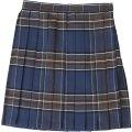 ●送料無料●TE-17SS スカート クラシックネイビー/ブラウン サイズ:L