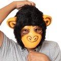●送料無料●ラバーマスク チンパンジーハーフ サイズ:UNISEX