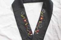 季節限定!クリスマス柄の刺繍半襟