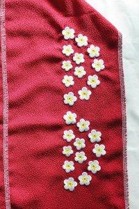 梅柄刺繍半襟