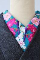 梅の競艶 刺繍半襟【アンティーク調】