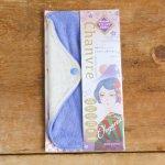 Chanbvre(シャンヴル)片面パイル地の防水布入りおお麻布ナプキンLサイズ・アイズブルーBL(M676c) 純国産 ホリスティク 自然治癒力 オーガニック コットン present by 満月の布