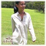 【お一人様三点まで】テラヘルツ528Hz【満月の福】 やさしいシャツ ユニセックス サイズ3【レビューで送料無料】【麻世】