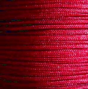細粗目0.7mm幅(AB珠線) 棗紅色122番AB