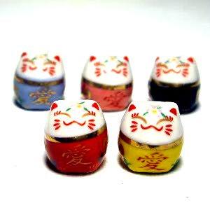 陶器 5色愛ねこ