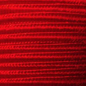 平紐4mm幅 赤色700番A扁線