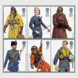 イギリス 2008年空軍の制服6種