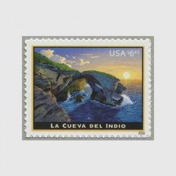アメリカ 2016年優先郵便切手 ラ・クエバ・デル・インディオ