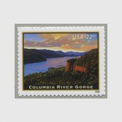 アメリカ 2016年速達切手コロンビア川渓谷